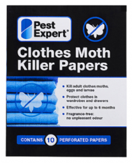 Clothes Moth Killer Strips from Pest Expert